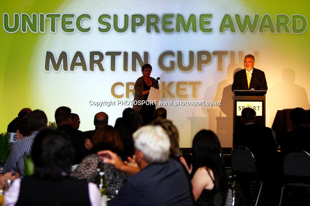Unitec, Waitakere Sporting Excellence, Koru Awards. Genesis Lounge, Trusts Stadium, Waitakere City, Auckland, 27 November 2009. Photo: William Booth/PHOTOSPORT