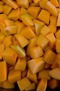 Belo Horizonte_MG, Brasil...Festival Gastronomico Sabor e Saber, na foto detalhe de melao...The Gastronomic Festival Sabor e Saber, in this photo some melons...Foto: BRUNO MAGALHAES / NITRO