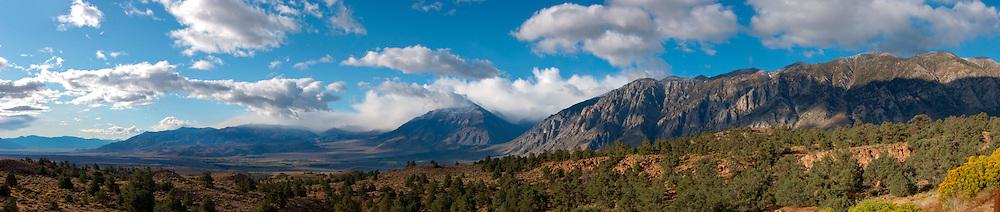 Owens Valley Overlook from U.S. Highway 395, Eastern Sierra, California