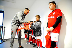 Bristol City players sign autographs prior to kick-off - Mandatory by-line: Nizaam Jones/JMP - 18/01/2020 - FOOTBALL - Ashton Gate - Bristol, England - Bristol City v Barnsley - Sky Bet Championship