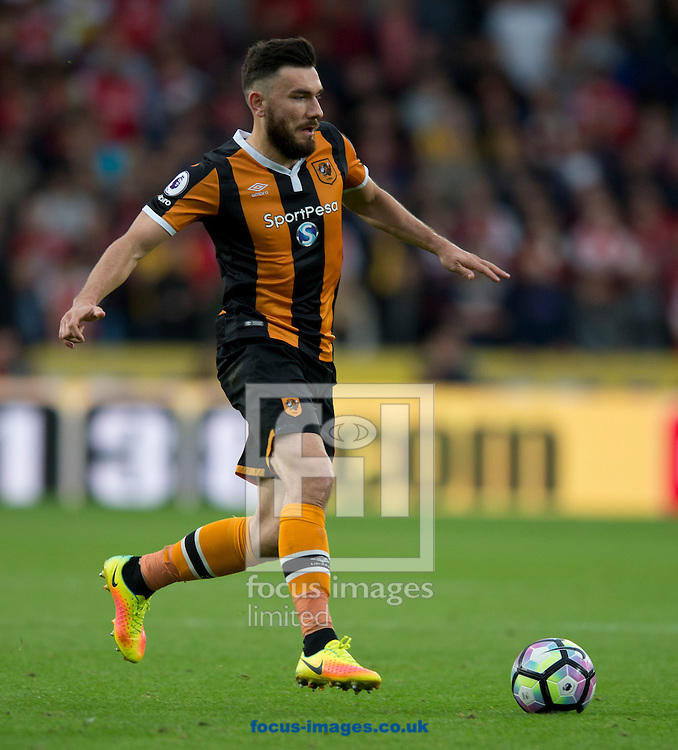 Robert Snodgrass of Hull City during the Premier League match at the KCOM Stadium, Hull<br /> Picture by Russell Hart/Focus Images Ltd 07791 688 420<br /> 17/09/2016