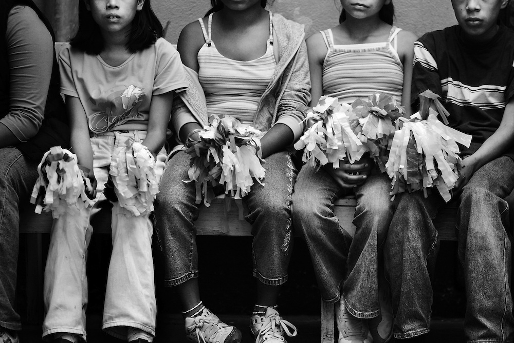 """Nuevos Horizantes, """"New Horizons"""", a women's relief center in Quetzaltenango, offers a shelter for abused women and children. These survivors seek to rebuild their lives knowing that there abuser is still out there. Home life often reflects the violence that plagued the country with 36-years of civil war, which ended with a Peace Accord in 1996. The Guatemalan government does not recognize domestic violence as a criminal offense."""