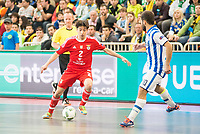 Benfica's Chaguinha and Pescara's Mauro Canal during UEFA Futsal Cup 2015/2016 3º/4º place match. April 22,2016. (ALTERPHOTOS/Acero)