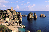 Tonnara di Scopello, Scopello, Sicily, Italy, // Italie, Sicile, Scopello, Tonnara di Scopello