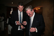 James Goodhew and Rick Goodhew, Lucinda Goodhew new collection. 30 Pavilion Rd. London.  24 April 2007. -DO NOT ARCHIVE-© Copyright Photograph by Dafydd Jones. 248 Clapham Rd. London SW9 0PZ. Tel 0207 820 0771. www.dafjones.com.