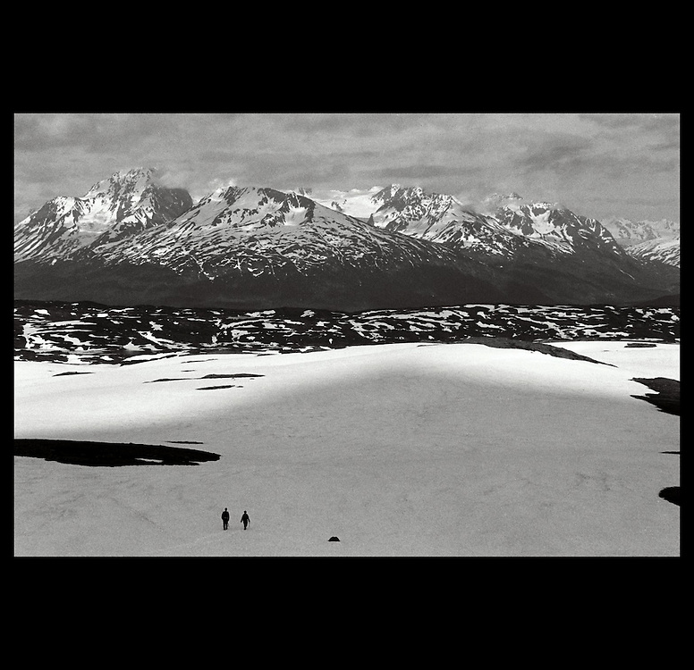 A view from Mt. Ascension in Seward, Alaska. 1999