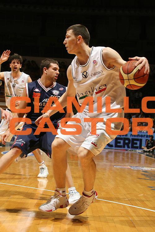 DESCRIZIONE : Bologna Lega A1 2006-07 Playoff Quarti di Finale Gara 1 VidiVici Virtus Bologna Angelico Biella <br /> GIOCATORE : Ilievski<br /> SQUADRA : VidiVici Virtus Bologna<br /> EVENTO : Campionato Lega A1 2006-2007 Playoff Quarti di Finale Gara 1 <br /> GARA : VidiVici Virtus Bologna Angelico Biella <br /> DATA : 17/05/2007 <br /> CATEGORIA : Penetrazione<br /> SPORT : Pallacanestro <br /> AUTORE : Agenzia Ciamillo-Castoria/M.Marchi