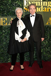 © Licensed to London News Pictures. 13/11/2016. London, UK, Glenn Close; Andrew Lloyd Webber, Evening Standard Theatre Awards, Photo credit: Richard Goldschmidt/LNP