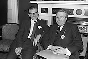 28/04/1964<br /> 04/28/1964<br /> 28 April 1964<br /> Watney Sales Conference at the Shelbourne Hotel, Dublin. At the conference were (l-r): ? and Mr. S.P. Woodhead.