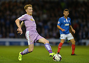 Stephen Quinn during the Capital One Cup match between Portsmouth and Reading at Fratton Park, Portsmouth, England on 25 August 2015. Photo by Adam Rivers.