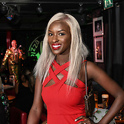 Sarah Mulindwa attend the Macmillan - charity gala summer party at Pizza Express Dean Street on 8 August 2018, London, UK.