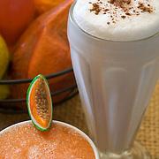 Milk shake and smoothie. Isla Mujeres, Quintana Roo. Mexico