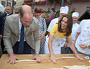Kate Middleton & Prince William Make Pretzels