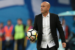 August 3, 2017 - Saint Petersburg, Russia - Head coach Josef Abuksis of FC Bnei Yehuda during the UEFA Europa League match, Third Qualifying Round, 2nd Leg between FC Zenit St. Petersburg and FC Bnei Yehuda at Saint Petersburg Stadium on August 03, 2017 in St. Petersburg, Russia. (Credit Image: © Igor Russak/NurPhoto via ZUMA Press)