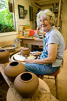 Artisans and their varied products is a major contributor to the sustainability of residents on the Gulf Islands as well as a major attraction for visitors to the Islands.  Salt Spring Island, Gulf Islands, British Columbia, Canada.