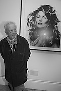 DAVID BAILEY, Opening of Bailey's Stardust - Exhibition - National Portrait Gallery London. 3 February 2014