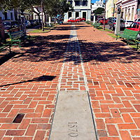 Plaza Santo Domingo in San Germ&aacute;n, Puerto Rico<br />