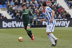 February 10, 2019 - Madrid, Madrid, Spain - Real Betis Balompie's Antonio Barragan during La Liga match between CD Leganes and Real Betis Balompie at Butarque Stadium in Madrid, Spain. February 10, 2019. (Credit Image: © A. Ware/NurPhoto via ZUMA Press)