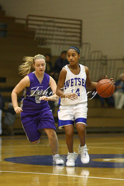 Wetsel Girls Basketball.vs Signal Knob.12/11/2007..