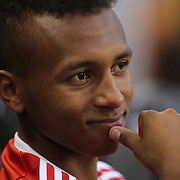 Julian Green, Bayern Munich, during the FC Bayern Munich vs Chivas Guadalajara, friendly football match at Red Bull Arena, New Jersey, USA. 31st July 2014. Photo Tim Clayton