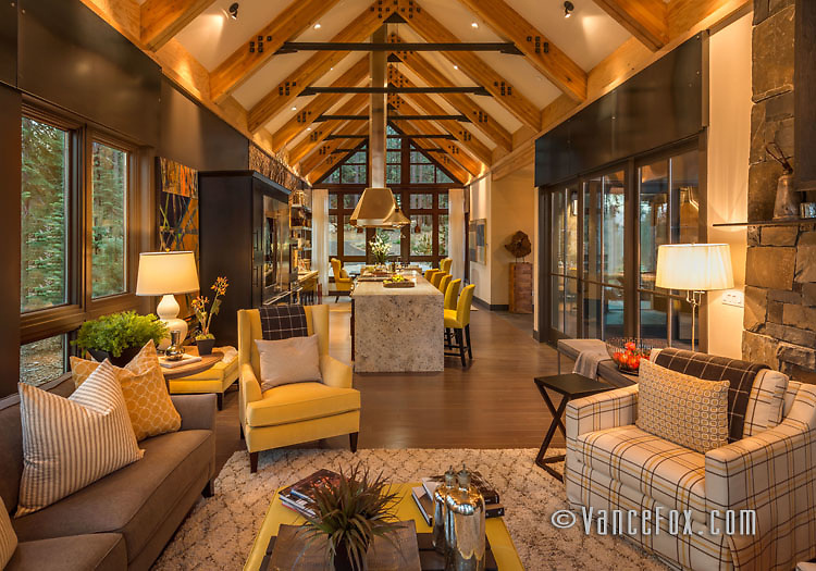 Schaffers Mill Dream Home, Truckee, Ca by Tanamera Construction. Vance Fox Photography