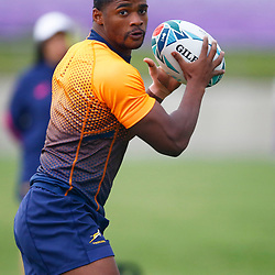TOKYO, JAPAN - OCTOBER 15: Warrick Gelant during the South African national rugby team training session at Fuchu Asahi Football Park on October 15, 2019 in Tokyo, Japan. (Photo by Steve Haag/Gallo Images)