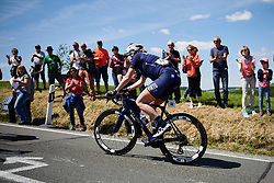 Mieke Kröger (GER) on Hankaberg at Lotto Thüringen Ladies Tour 2019 - Stage 3, a 97.8 km road race in Dörtendorf, Germany on May 30, 2019. Photo by Sean Robinson/velofocus.com
