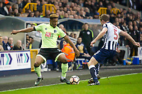 Football - 2016 / 2017 FA Cup - Third Round: Millwall vs. AFC Bournemouth<br /> <br />  Jordon Ibe of Bournemouth attacks Tony Craig Capt of Millwall, at The Den.<br /> <br /> COLORSPORT/WINSTON BYNORTH