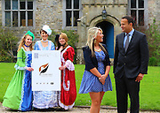 "06/05/2013. Free To Use Image. Lismore Brand, Lismore, Co. Waterford. Brand Lismore winning entry. Pictured is Laura Keane (2nd from right) WIT (Waterford Institute of Technology) Graphic Design Student who had the winning entry in the ""Brand Lismore"" Logo, also pictured is Minister for Transport, Tourism & Sport, Leo Varadkar TD with on left Sarah Nugent-Shannahan, Becky McCloskey and Ellen McCloskey. Picture: Patrick Browne"