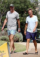 Kevin Pietersen our with Mark Nicholas - 11 Feb 2018