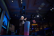 Former Speaker of the House NEWT GINGRICH speaks at the annual Conservative Political Action Conference (CPAC) in Washington, D.C. on Friday.  CPAC, which began in 1973, attracts more than 10,000 people and The American Conservative Union, which runs it, announced it expected 1,200 members of the media.