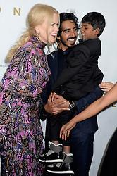 November 16, 2016 - New York, New York, USA - Nicole Kidman, Dev Patel und Sunny Pawar bei der Premiere des Kinofilms 'Lion' im Museum of Modern Art. New York, 16.11.2016 (Credit Image: © Future-Image via ZUMA Press)
