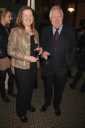 Writer TOREY HAYDEN and LORD HATTERSLEY at a reception for the third NSPCC Hall of Fame Awards Ceremony in the Members Dining Room, The House of Commons, London on 15th May 2007.<br />