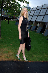 KATE DRIVER sister of Minnie Driverat the annual Serpentine Gallery Summer Party co-hosted by Jimmy Choo shoes held at the Serpentine Gallery, Kensington Gardens, London on 30th June 2005.<br />