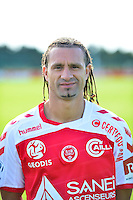 Mickael TACALFRED - 28.09.2015 - Photo officielle Reims - Ligue 1<br /> Photo : Dave Winter / Icon Sport