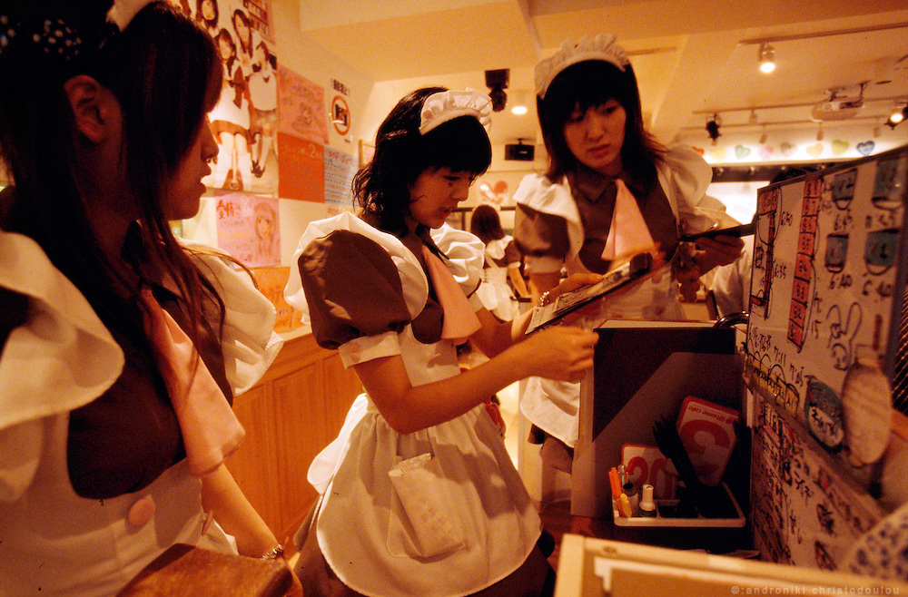 @ HOME maid cafe in Akihabara is one of the most popular ones