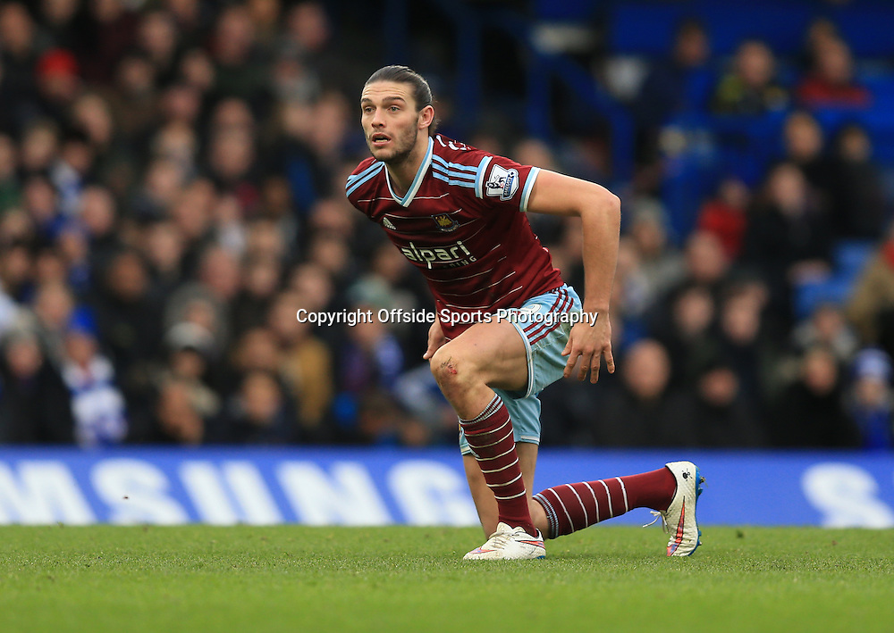 26 December 2014 - Barclays Premier League - Chelsea v West Ham - Andy Carroll of West Ham -  Photo: Marc Atkins / Offside.