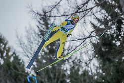 10.01.2015, Kulm, Bad Mitterndorf, AUT, FIS Ski Flug Weltcup, Bewerb, im Bild Noriaki Kasai (JPN) // soars to the Air during his Competition Jump of the FIS Ski Flying World Cup at the Kulm, Bad Mitterndorf, Austria on 2015/01/10, EXPA Pictures © 2015, PhotoCredit: EXPA/ Dominik Angerer