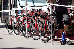 Bicycles at prologue (17,8km) of Tour de Slovenie 2012, on June 17 2012, in Ljubljana, Slovenia. (Photo by Matic Klansek Velej / Sportida.com)
