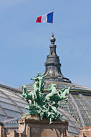 Grand Palais Paris France in Spring time of May 2008