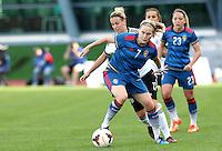 Fifa Womans World Cup Canada 2015 - Preview //<br /> Algarve Cup 2015 Tournament ( Vila Real San Antonio Sport Complex - Portugal ) - <br /> Germany vs Sweden 2-4   -  Lisa Dahlkvist of Sweden , Challenges with Jennifer Cramer of Germany (Back)