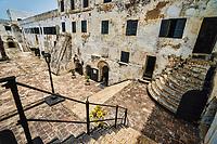 Stairwell to Courtyard, Elmina Castle