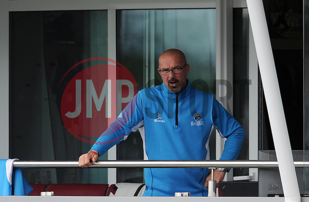 Somerset's Director of Cricket Matt Maynard - Photo mandatory by-line: Harry Trump/JMP - Mobile: 07966 386802 - 14/06/15 - SPORT - CRICKET - LVCC County Championship - Division One - Day One - Somerset v Nottinghamshire - The County Ground, Taunton, England.