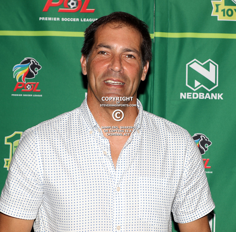 Roger De Sa (Head Coach) of Maritzburg Utd during the NEDBANK CUP LAST 32 MEDIA OPPORTUNITIES at  Moses Mabhida Stadium  in Durban, South Africa. 7th March 2017(Photo by Steve Haag)<br /> <br /> images for social media must have consent from Steve Haag