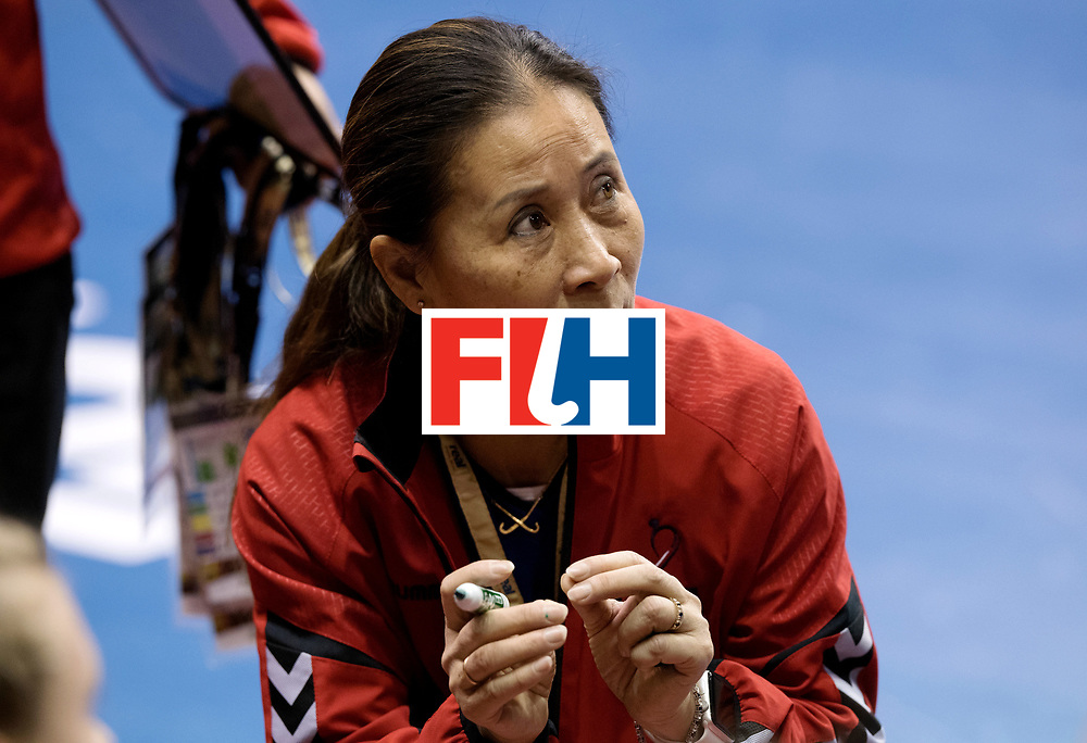 BERLIN - Indoor Hockey World Cup<br /> Women: United States - Kazakhstan<br /> foto: KENTWELL Jun.<br /> WORLDSPORTPICS COPYRIGHT FRANK UIJLENBROEK