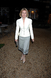 VISCOUNTESS LINLEY at the annual Cartier Chelsea Flower Show dinner held at the Chelsea Physic Garden, London on 21st May 2007.<br /><br />NON EXCLUSIVE - WORLD RIGHTS