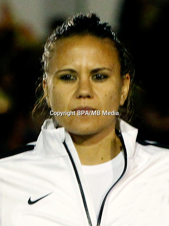 Fifa Woman's Tournament - Olympic Games Rio 2016 -  <br /> New Zealand National Team - <br /> Amber Hearn