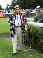 Racing pundit John McCririck on the second day of Glorious Goodwood<br /> London, United Kingdom,<br /> Wednesday, 31st July 2013<br /> Picture by i-Images
