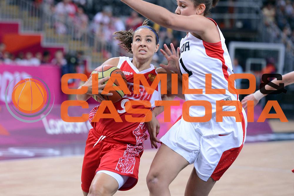DESCRIZIONE : London Londra Olympic Games Olimpiadi 2012 Women Preliminary Round Canada Russia<br /> GIOCATORE : Becky Hammon<br /> CATEGORIA : Palleggio Penetrazione<br /> SQUADRA : Russia<br /> EVENTO : Olympic Games Olimpiadi 2012<br /> GARA : Canada Russia<br /> DATA : 28/08/2012 <br /> SPORT : Pallacanestro <br /> AUTORE : Agenzia Ciamillo-Castoria/GiulioCiamillo<br /> Galleria : London Londra Olympic Games Olimpiadi 2012 <br /> Fotonotizia : London Londra Olympic Games Olimpiadi 2012 Women Preliminary Round Canada Russia<br /> Predefinita :