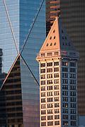 Smith Tower, the Mark, Columbia Canter, downtown, Seattle, Washington, USA  02/26/18